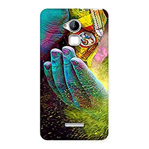 Gorgeous Hands and Colors Back Case Cover for Coolpad Note 3