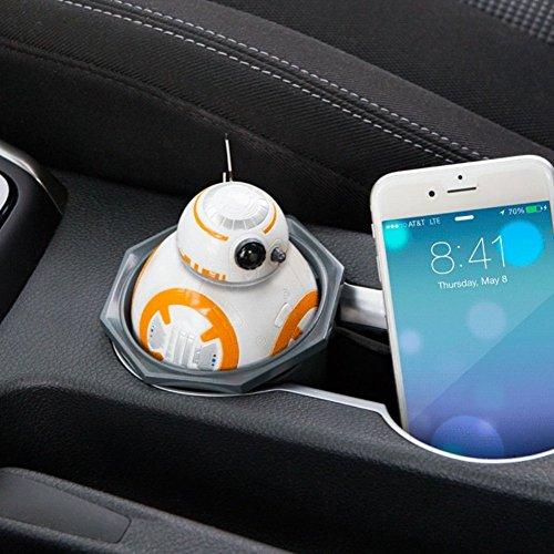 StarWars スターウォーズ BB-8 USB Car Charger ドロイド USB 車載充電器 iPhone, iPad, Android対応 [並行輸入品]
