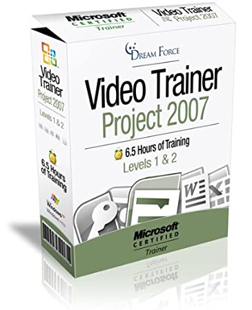 Project 2007 Training Videos - 6.5 Hours of Project 2007 training by Microsoft Office Specialist Master Instructor: 2000, XP (2002), 2003, 2007 and Microsoft Certified Trainer (MCT), Kirt Kershaw