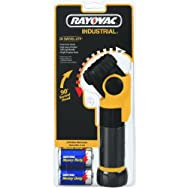 Ray-O-Vac ISL2D-B Industrial Swivel Flashlight