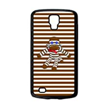 buy Design Cute Cartoon Character Sock Monkey Pictures Hard Plastic Protective Case Shell For Samsung Galaxy S4 Active I9295 Cover-1