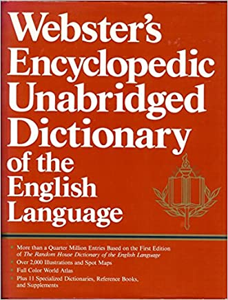 Webster's Encyclopedic Unabridged Dictionary of the English Languagea written by David Yerkes
