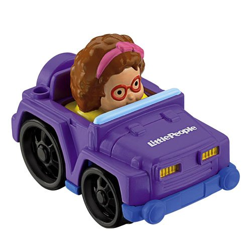 Jeep FISHER PRICE Fahrzeug mit Figur Little People Wheelies MATTEL T5635