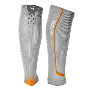 Buy Thirty48 - The Sock Geeks, Cp Series Calf Shin Splint Guard Graduated Compression Sleeves-Sock; 1 Pair; Maximize Faster... by Thirty 48