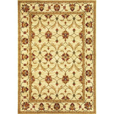 """ORIENTAL IVORY AREA RUG 4X6 SMALL PERSIAN CARPET 019 ACTUAL 3/' 7/"""" x 5/' 2/"""""""