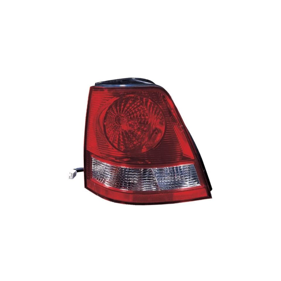 KIA Sorento Replacement Tail Light Assembly   Passenger Side Automotive