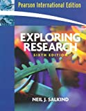 img - for Exploring Research: AND Research Methods for Business Students book / textbook / text book