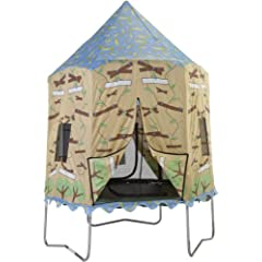 Bazoongi Tree House Trampoline Tent for 7.5-Feet Jump Pod by Bazoongi