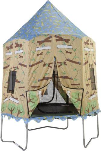 Bazoongi-Tree-House-Trampoline-Tent-for-75-Feet-Jump-Pod