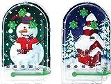 12 x Christmas Pinball Puzzles