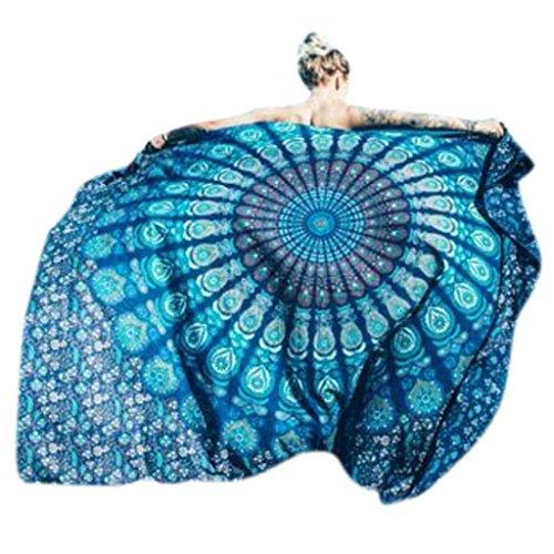 King do way asciugamano teli da mare mandala letto rotondo - Tappeto mandala ...