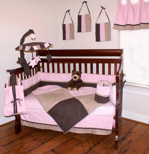 Nursery-To-Go Pretty in Pink Bedding 10 Piece Crib Set