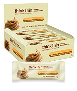 Think Thinkthin High Protein Bars - Coconut Cake 20g Protein 0g Sugar No Artificial Sweeteners Gluten Free Gmo Free 10 Count by PRWK9 - pallet ordering