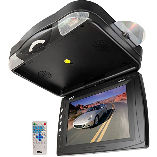Pyle Plrd133F 12.1-Inch Roof Mount Tft Lcd Monitor With Built-In Dvd Player