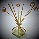 The Retailer House Best Quality Glass Bottle With 8 Pcs Reed Sticks ,capacity About 100 ML ,best Use For Reed...