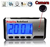 Queen Spy Portable Alarm Clock Spy Camera DVR with Motion Detection (Tf Card Not Included)