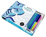 img - for Vive Le Color! Serenity (Adult Coloring Book and Pencils): Color Therapy Kit book / textbook / text book