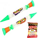 "Holi Water Gun - Holi Gifts Two In One Shwer 18 Inch"" Kids Pichkari Set Of 2"