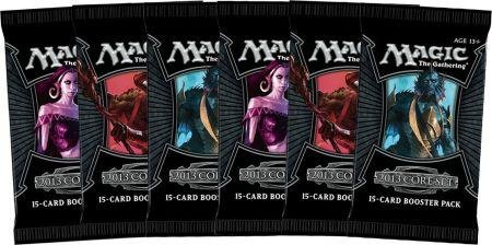 6 (Six) Packs Of Magic The Gathering - Mtg: 2013 Core Set Booster Pack Lot (6 Packs) front-450707