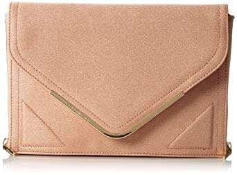 BCBGeneration Camila The Higher Maintenance Clutch,Nectar,One Size