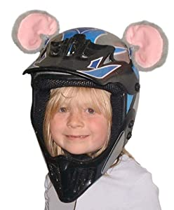 Crazy Ski Helmet Ears | Mouse Helmet Ears & Tail from Stiky Helmets Ltd