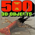 500 objets en 3D, vol.1, livre avec 2...