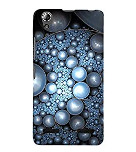 Vizagbeats pearl pattern Back Case Cover for Lenovo A6000 Plus