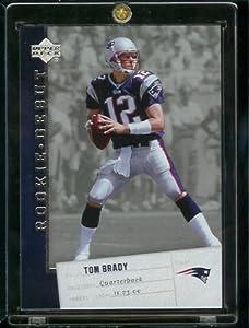 2006 Upper Deck Rookie Debut Tom Brady New England Patriots Football Card #57 - Mint... by Upper Deck