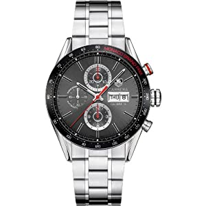 Tag Heuer Carrera Monaco Automatic Chronograph Steel Mens Watch CV2A1M.BA0796