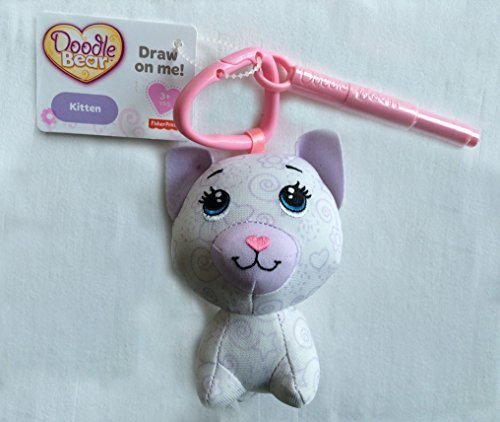 Fisher Price Doodle Bear MINI - Kitten with Pen - 1