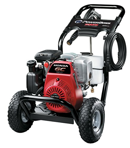 Powerboss 20649 Gas Powered Pressure Washer 3100 Psi 2 7
