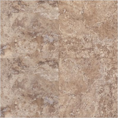 "Adura 16"" x 16"" Escalante Vinyl Tile in Brownstone"