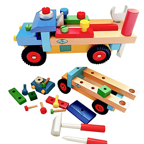 Wooden Toy Trucks For 3 Year Old : Educational toys for year olds great toddler