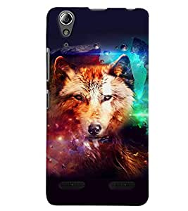 GADGET LOOKS PRINTED BACK COVER FOR Lenovo A6000 MULTICOLOR