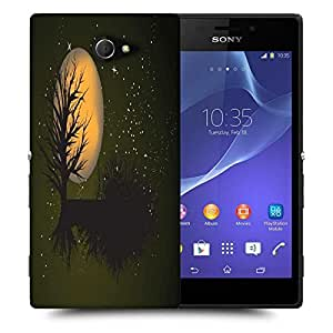 Snoogg fantasy background Designer Protective Back Case Cover For Sony Xperia M2