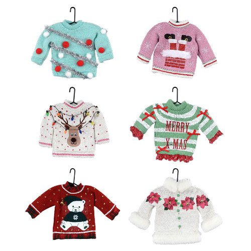 Department 56 1956 Christmas - Uglier Sweater Ornament