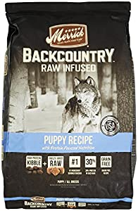Merrick Backcountry Puppy Recipe Pet Food, 22-Pound