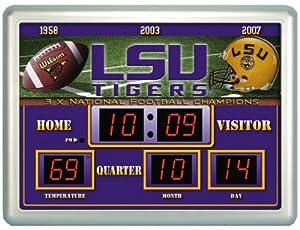 Louisiana State LSU Tigers NCAA 14 X 19 Scoreboard Clock by Unknown