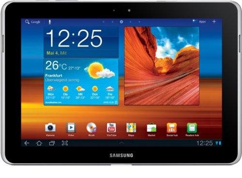 Samsung Galaxy Tab 10.1N P7501 Tablet (25,7 cm (10.1 Zoll) Touchscreen, 3G, Wifi, 64 GB Speicher, Android Betriebssystem) decent-white