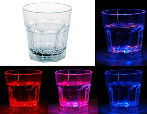 10oz Sensor LED Colorful Light Drink Cup (Transparent) (Beer Bong Gravity Bong compare prices)