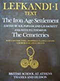 img - for Lefkandi I: The Iron Age Settlement (British School at Athens) book / textbook / text book