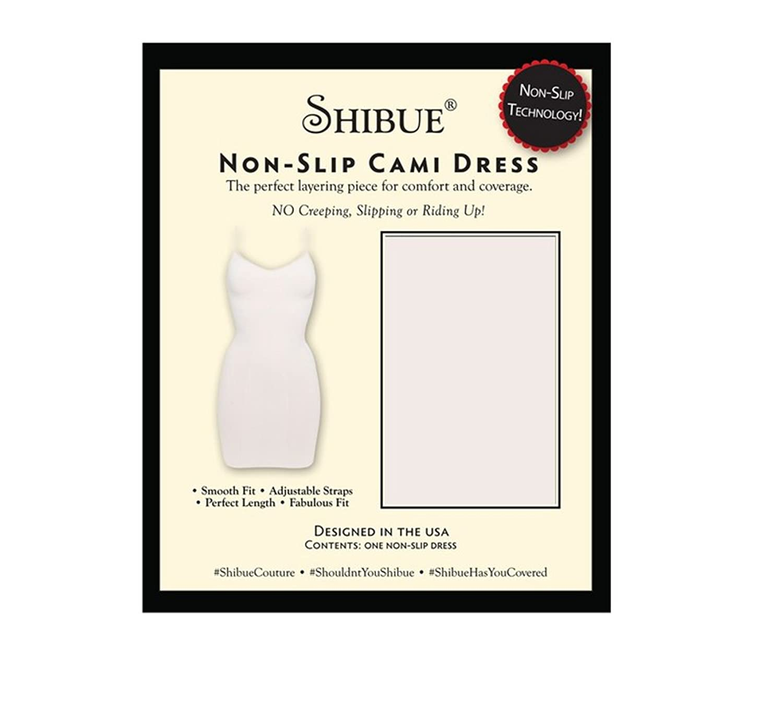 Shibue Couture Non-Slip Cami Dress – Formendes Unterkleid – Farbe Weiss, Größe L online kaufen