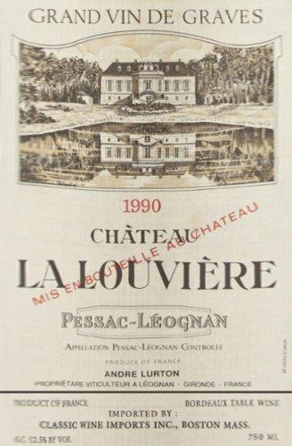 1990 Chateau La Louviere 750 Ml