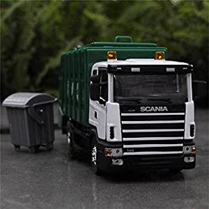 Amazon.com : 1:43 SCANIA Garbage truck vehicle scale models Diecast