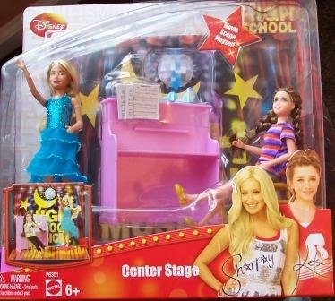 Picture of Mattel High School Musical 3 Center Stage Movie Scene Playset Figure (B001TITO6S) (Mattel Action Figures)