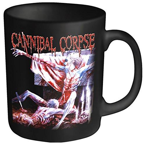 Plastic Head - Tazza con logo Cannibal Corpse, soggetto: tomba, colore: Nero
