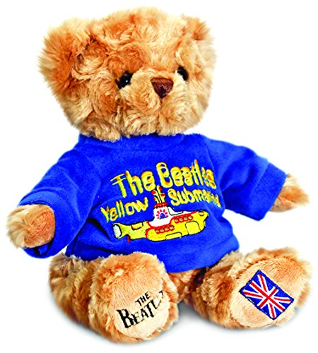 Keel Toys WW9708 - Peluche, Orsetto The Beatles / Yellow Submarine, 20 cm