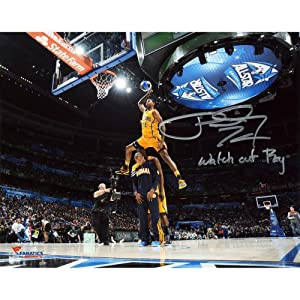 Paul George Indiana Pacers Autographed 8