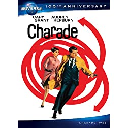 Charade [DVD + Digital Copy] (Universal's's 100th Anniversary)