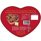 Maxims Paris Heart Tin (Nougat milk chocolate - Red)